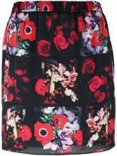 Kenzo - Antonio Lopez mini skirt - women - Silk/Polyester - 34, 36, 40, 38 - BLACK