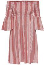 ONLY Off Shoulder Dress Women Pink