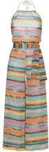 Missoni - Tuta con motivo a zigzag - women - Nylon/Polyester/Viscose - 40, 42 - MULTICOLOUR