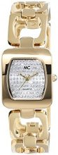 MC Timetrend 51356 - Orologio da polso da donna, cinturino in ottone colore oro