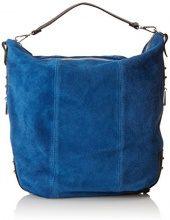 Chicca Borse 80006 Borsa a Zainetto, 39 cm, Blu
