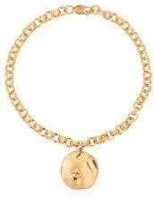 Holly Ryan - Wabi Sabi sapphire bracelet - women - Silver/Sapphire/18kt Gold - OS - METALLIC