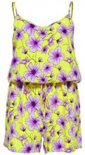 ONLY Printed Playsuit Women Yellow