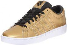 K-SwissHOKE Metallic Cmf S - Scarpe da Ginnastica Basse Donna, Oro (Gold (Gld/Blk/Wht 717)), 41