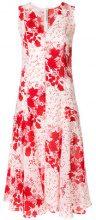 Ermanno Scervino - Vestito a fiori - women - Silk/Polyamide - 46, 40, 44 - RED