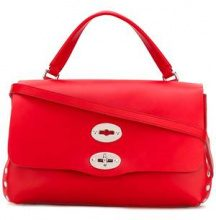 Zanellato - Borsa tote 'Silk' - women - Cotton/Leather - OS - RED