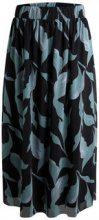 PIECES Printed Mesh Midi Skirt Women Black
