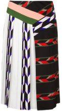 Emilio Pucci - patchwork skirt - women - Silk/Viscose - 38 - Nero
