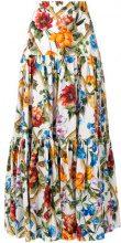 Dolce & Gabbana - Gonna lunga a fiori - women - Cotton - 38, 40, 42 - MULTICOLOUR