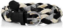 PIECES Pcmea Jeans Belt, Cintura Donna, Multicolore Black, 6 (Taglia Produttore: 90)