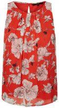 VERO MODA Floral Sleeveless Top Women Red