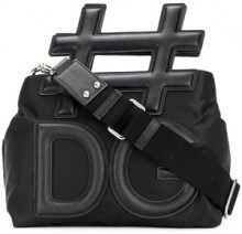 Dolce & Gabbana - Borsa a spalla 'Insta' - women - Polyamide/Viscose/Acrylic/Calf Leather - One Size - BLACK