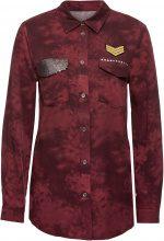 Camicia con paillettes (Rosso) - BODYFLIRT