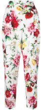 Dolce & Gabbana - Pantaloni crop - women - Cotton - 38, 40, 42 - MULTICOLOUR