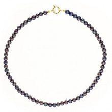 Pearls & Colors–Collana Multifilo–Oro Giallo 9kt–Perla D' Acqua Dolce–42cm–pc-9cc17