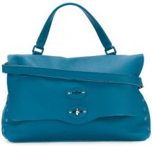Zanellato - Postina tote bag - women - Leather - OS - BLUE