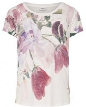 ONLY Flowered T-shirt Women White