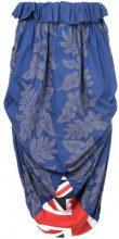 Comme Des Garçons Vintage - Gonna drappeggiata - women - Cotone - S - Blu