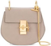 Chloé - Borsa a spalla Drew - women - Leather/Metal (Other) - One Size - GREY
