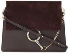 Chloé - Borsa a spalla - women - Leather/Suede - OS - Marrone