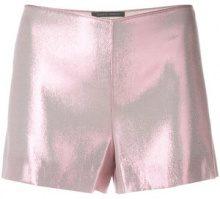 Alberta Ferretti - Pantaloni corti - women - Silk/Polyester - 38, 40 - PINK & PURPLE