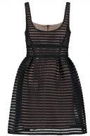 VALERIE - Vestito elegante - black on nude