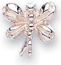 Jo for girls, perlina in argento a forma di libellula