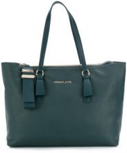 Versace Jeans - Borsa shopper - women - Synthetic Resin/Polyester - OS - GREEN