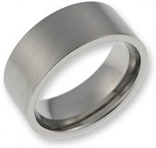 CORE by Schumann Design Anello da uomo in acciaio inox opacizzato Steel Basic Collection te034.01 – 66