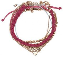 ONLY 5-pack Bracelet Women Pink
