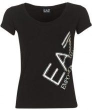 T-shirt Emporio Armani EA7  TRAIN LOGO SERIES STRASS
