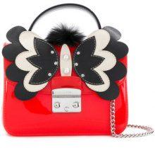 Furla - appliquéd Candy Metropolis crossbody bag - women - PVC - One Size - YELLOW & ORANGE