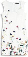 ESPRIT Collection 057EO1E007, Vestito Donna, Bianco (Off White), 40