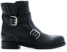 Jimmy Choo - Stivali 'Blyss' - women - Calf Leather/Leather - 35.5, 37.5, 37, 40, 41, 38.5, 36, 35 - Nero