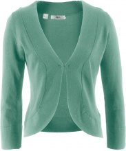 Bolero in maglia a manica lunga (Verde) - bpc bonprix collection