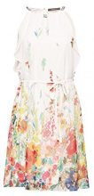 ESPRIT Collection 048eo1e019, Vestito Donna, Bianco (Off White 110), 42