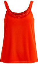 VILA Detailed Strap Top Women Orange
