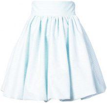 Petersyn - flared mini skirt - women - Polyester - S, M, L - Blu