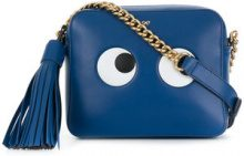 Anya Hindmarch - Borsa Eyes Right Circus - women - Calf Leather - One Size - BLUE