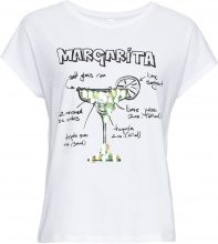 T-shirt con paillettes (Bianco) - RAINBOW