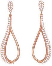 ESPRIT Glamour–Orecchini pendenti da donna Daria Rose parte placcato oro con zirconi trasparenti–ESER03073C000