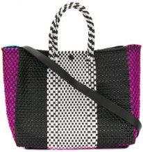 Truss Nyc - Borsa tote color block - women - Leather/Plastic - OS - MULTICOLOUR