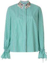 Vivetta - Camicia con polsini con cordoncino - women - Cotton - 40, 42, 44 - GREEN