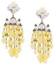 - Dannijo - Lionel earrings - women - Acrylic - Taglia Unica - Giallo & arancio