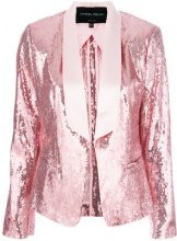 Christian Pellizzari - Giacca con paillettes - women - Polyester/Acetate/Viscose - 42, 44 - PINK & PURPLE