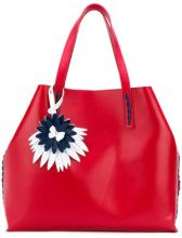 P.A.R.O.S.H. - Borsa shopper - women - Leather - One Size - RED