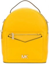 Michael Michael Kors - Jessa small convertible backpack - women - Leather - OS - YELLOW & ORANGE