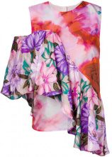 MSGM - Blusa stampata - women - Silk/Polyester - 38, 42, 44 - Rosa & viola