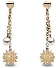 Kimura pearls Orecchini a pendolo e goccia Donna oro_giallo - TEP0004-25