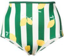 Solid & Striped - The Brigitte bikini top - women - Polyester/Spandex/Elastane - L - Verde